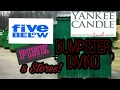 An Evening Dumpster Dive..Victoria's Secret, FIVE BELOW, and More!!