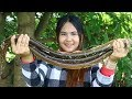 Awesome Cooking Spicy Stir-Fried Fresh Water Eel Dilecious Cook Recipe -Yummy Eating Show No Talking