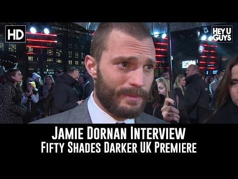 Jamie Dornan Premiere Interview - Fifty Shades Darker