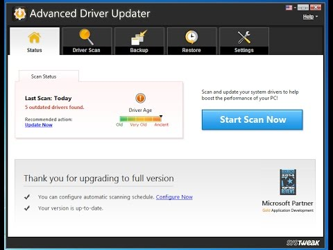 update my drivers smart tweak registration key crack
