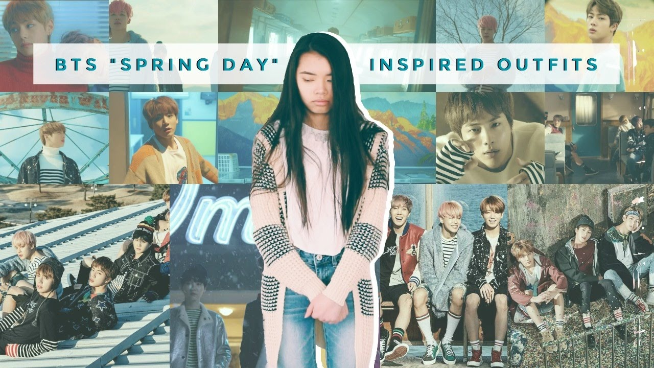 BTS · 방탄소년단 — Spring Day · 봄날 Inspired Outfits  lookbook