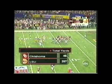 2004 Sugar Bowl - #1 Oklahoma vs. #2 Louisiana State Highlights