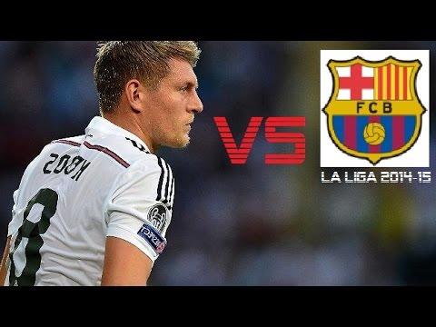 Toni Kroos vs Barcelona | Real Madrid vs Barcelona 3-1 | La Liga 2014/15 (H)