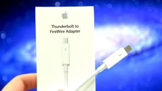 Review: Apple Thunderbolt to FireWire Adapter