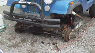 Jeep Cj7 Spring Over Lift Pt 1