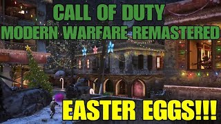 5 Easter Eggs you missed in Call of Duty Modern Warfare Remastered