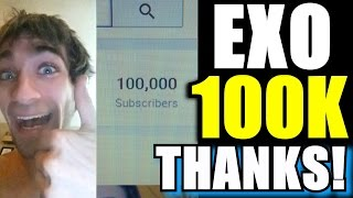 EXOcontralto HITS 100,000 SUBSCRIBERS! Thank You For Watching All These Years!