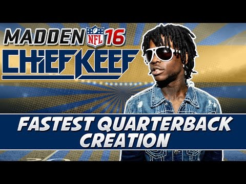 Madden 16 Career Mode How To Create Fastest Mobile QB Chief Keef