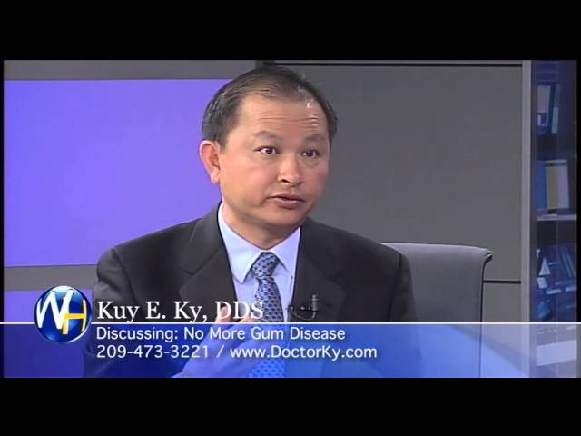 No More Gum Disease, interviews Stockton, CA Dentist, Kuy E. Ky