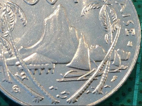 Coin of the Day (#44) - 7th September 2014 - French Polynesia 50f