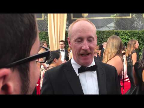 Matt Walsh on Emmy red carpet shortly before