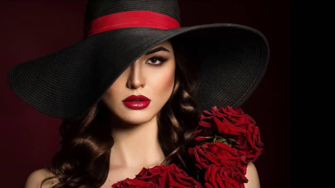 незабываемые красивая картинка леди в красном условием