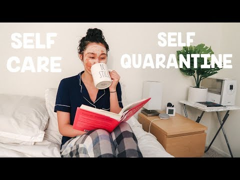 Self Care Routine During Self Quarantine 🛀 - YouTube