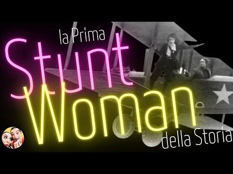 LA PRIMA STUNT WOMAN DELLA STORIA videodocumentario cinema
