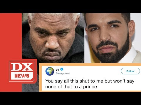 Kanye West Says Drake Threatened Him But Won't Do That To J Prince Mp3