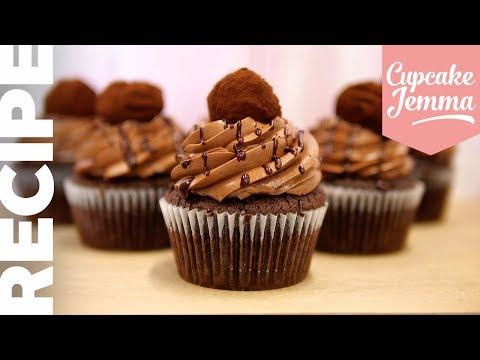 CHOCOLATE OVERLOAD CUPCAKES   The Chocolatiest Cupcakes EVER!   Cupcake Jemma