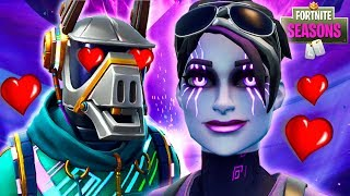 DARK BOMBER TRICKS DJ YONDER w/ HER EVIL LOVE!! *NEW SKIN* Fortnite Season 6 Short Film