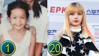 [Black Pink] Lisa/Lalisa Manoban Predebut | Transformation from 1 to 20 Years Old