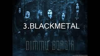 Macam - Macam Aliran  Musik Metal