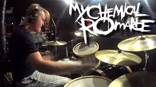 My Chemical Romance - Welcome To The Black Parade - Drum Cover By Rex Larkman
