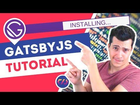 GatsbyJS Tutorial - Javascript Static Site Generator thumbnail