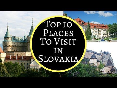 Top 10 Things to See in Slovakia | Bratislava, High Tatras, Slovak Paradise, Orava Castle, Bojnice..