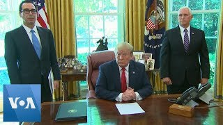 President Donald Trump Imposes Sanctions on Iran and on Iran's Supreme Leader