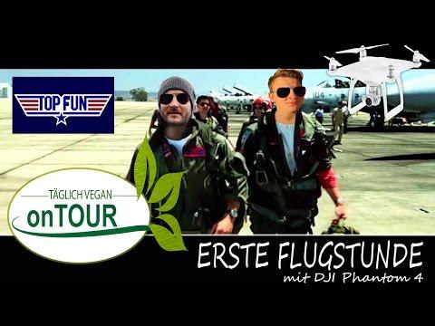 Drohnenflug mit Kamera | DJI Phantom 4 | Hands-On | 1. Flugshow am Strand