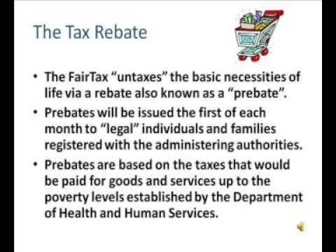 Fair Tax Act - Essay Example