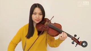 Ariana Grande - 7 rings(Violin Cover)