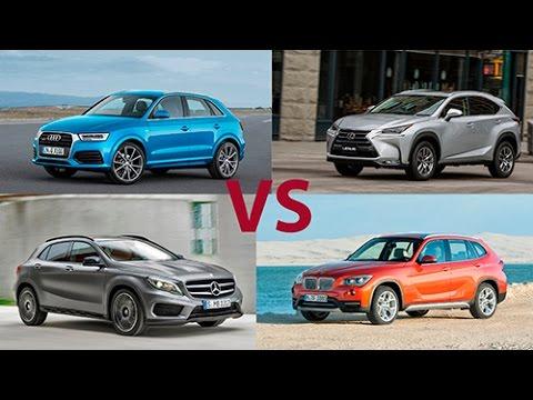Lexus NX vs Mercedes GLA vs BMW X1 vs Audi Q3 - сравнительный тест Александра Михельсона