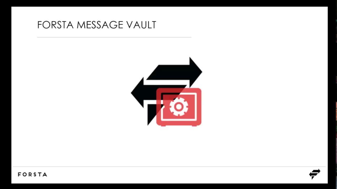 Message vault
