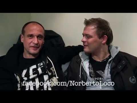 Pawel Kukiz rozmawia z szalonym Norberto Loco