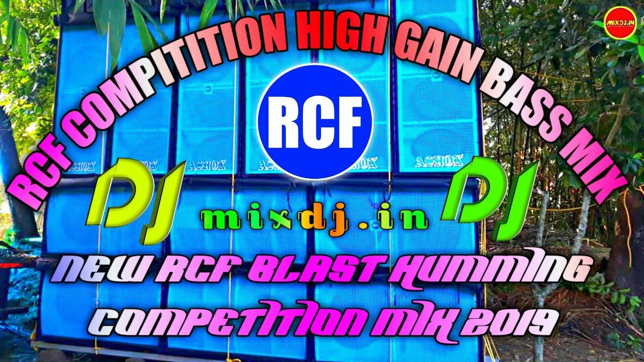 Rcf blast humming competition mix 2019 || Khatanak Over bass competition dj  mix