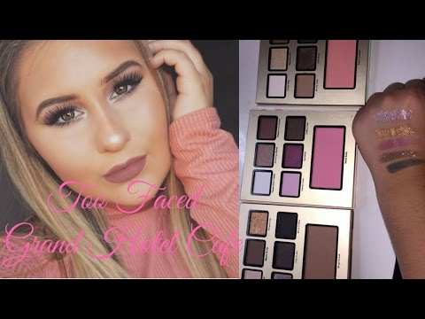 Too Faced Grand Hotel Cafe Makeup Tutorial