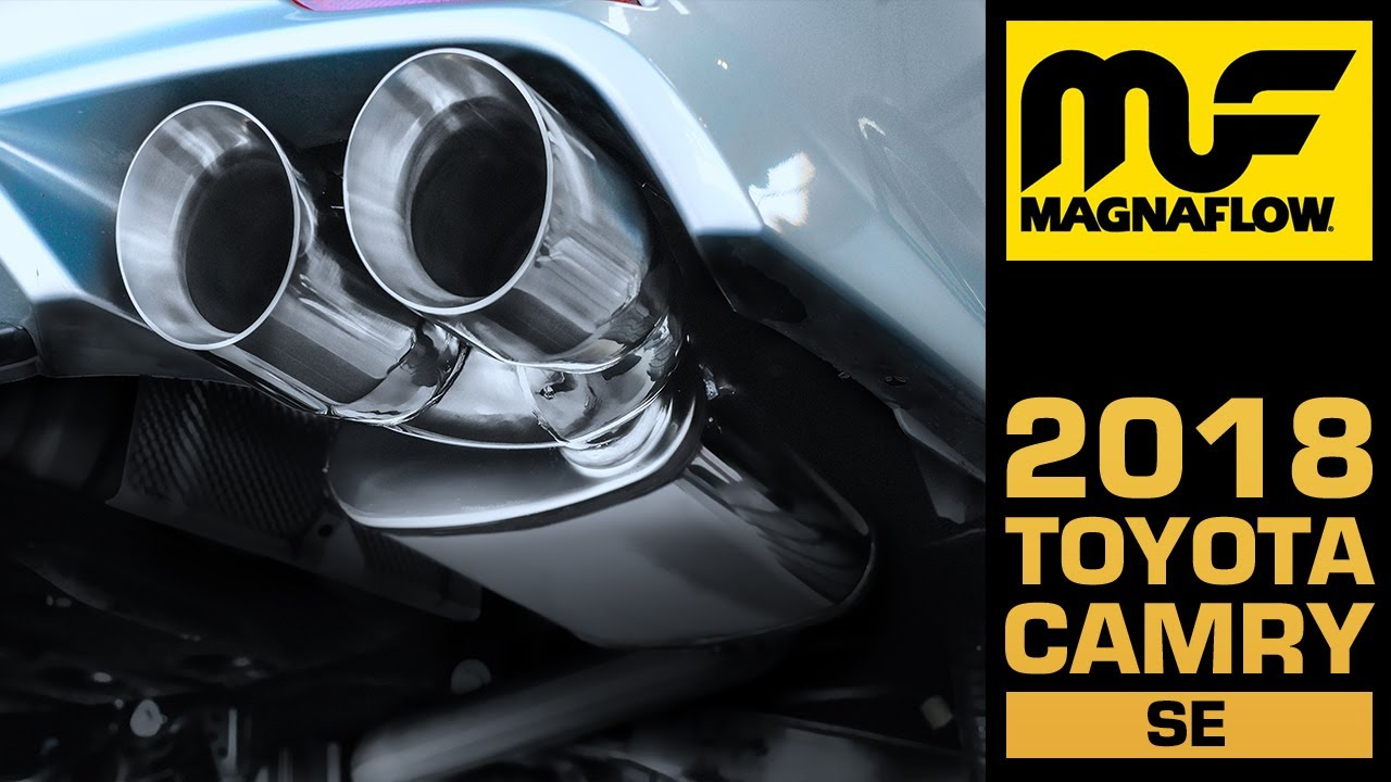 sound clip 2018 2021 toyota camry with a magnaflow cat back exhaust