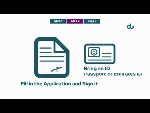 How To Transfer Your Personal Mobile Number To Du In 3