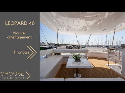 Leopard 40 new cabin layout nouvel am nagement for Interieur en francais