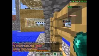 Баги Minecraft. Проходим через стеклянную панель, забор, железную дверь!