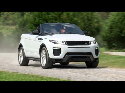 2017 Range Rover Evoque Convertible Complete Review Testdrivenow