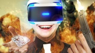 O PIOR LADRÃO DO MUNDO! - LONDON HEIST (PLAYSTATION VR)