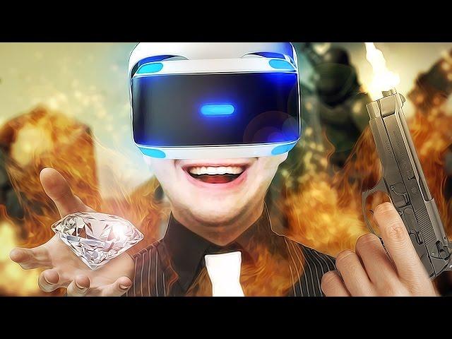 O PIOR LADRÃO DO MUNDO! - LONDON HEIST (PLAYSTATION VR)