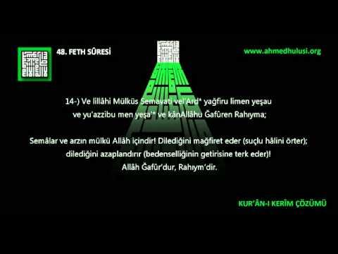 48 FETH SÛRESİ Abdulbasît Abdussamed'in sesinden (arapça)