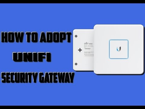 How To Adopt UniFi Security Gateway|Ubiquiti USG Adoption|Easy and Simple