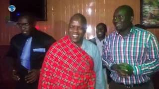 Outgoing Daily Nation, North Rift Regional Editor Elias Makori feted in a colorful dinner