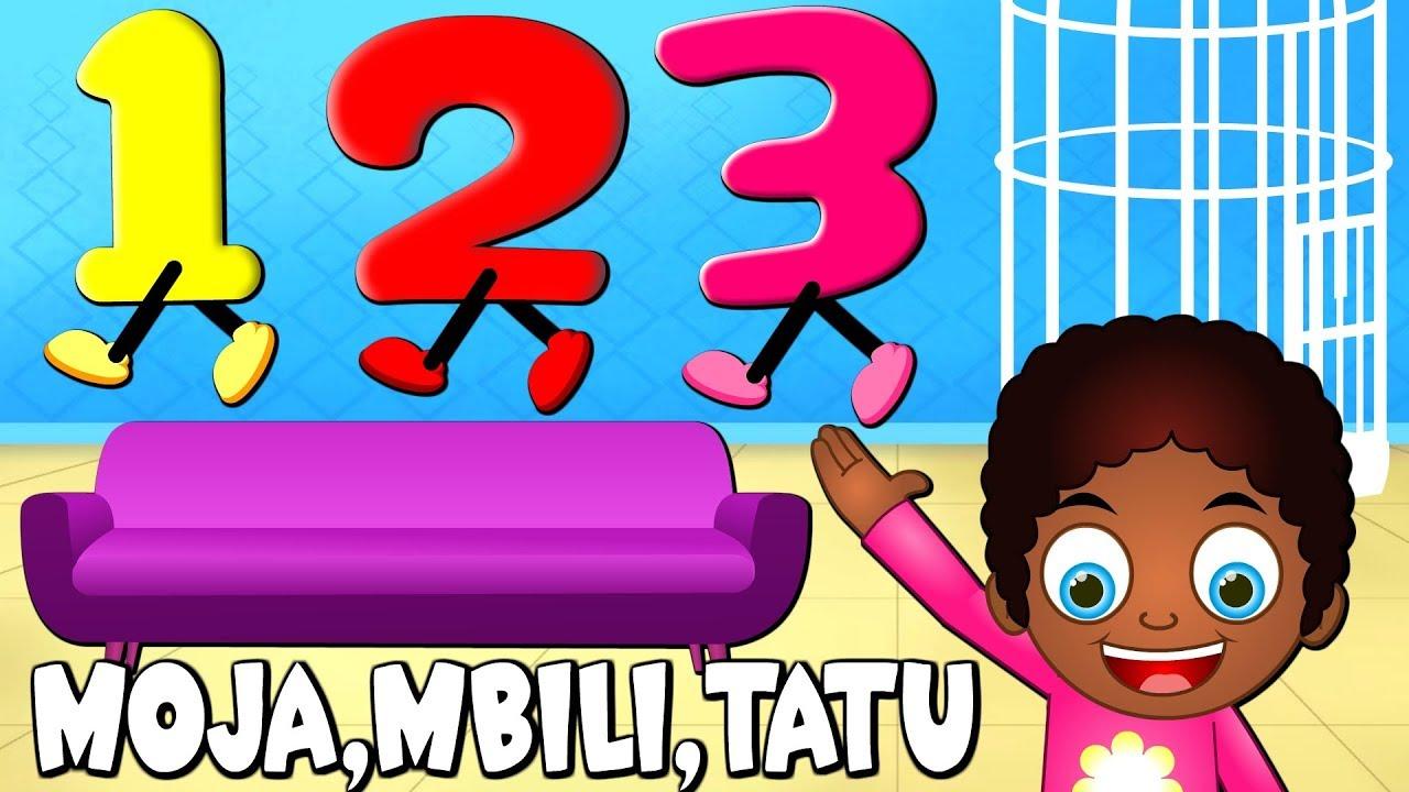 Download Moja Mbili Tatu Nne Tano Sita | Nyimbo za Watoto za Kiswahili | Swahili Kids Song | Nyimbo za Kitoto
