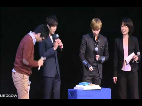 Young Saeng and Kyu Jong 1st story in Japan dvd_ celebrating Young Saeng's birthday