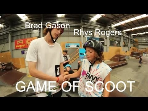 Rhys Rogers Vs Brad Gason Game Of Scoot Youtube