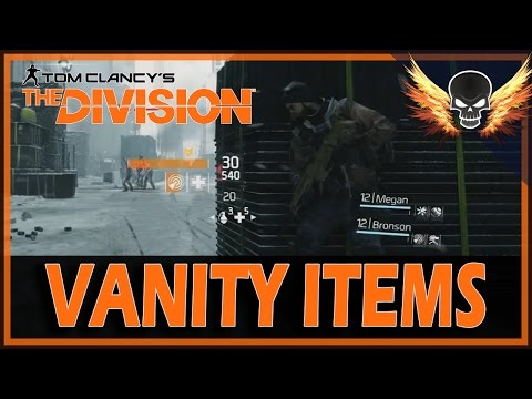 The Division - Vanity Items
