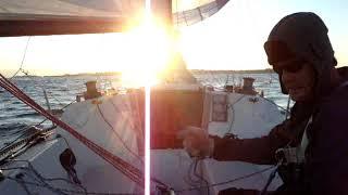 Foolish Muse: Singlehanded Spinnaker Launch, Douse \u0026 Gybe